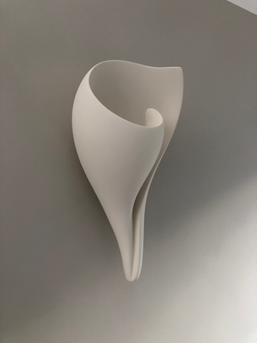 Side View - Monumental Shell Wall Sconce