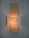 Nuit de Chine Wall Light (Bleached oak) by Hannah Woodhouse