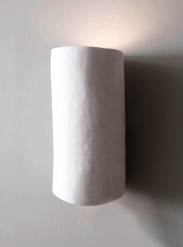 Serenity Plaster Wall Light : Art Wall Lights