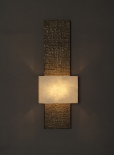 Tall tony wall light art wall lights tall tony bronze wall light architectural designer wall light by hannah woodhouse mozeypictures Images