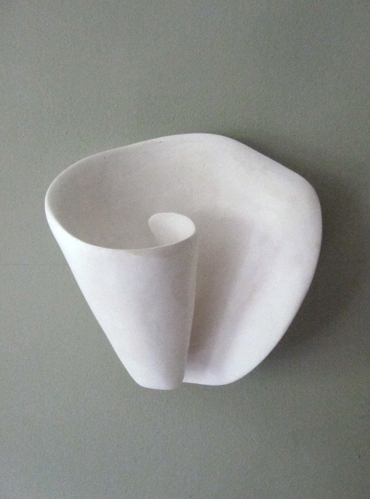 M267 Plaster Wall Light by Hannah Woodhouse